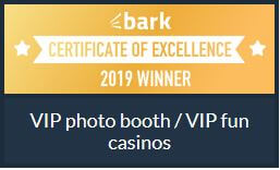 fun casino and photo booth award